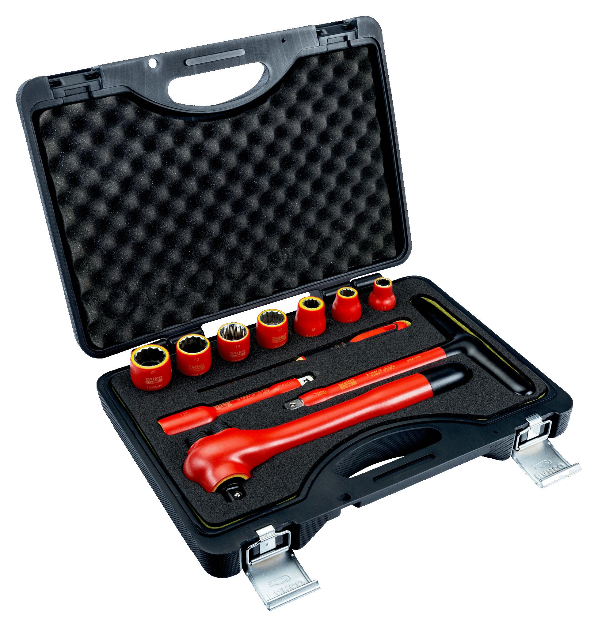 19mm Snap-On Industrial Brand BAHCO Bahco 7800DMV-20 1000V 1//2 Drive Socket